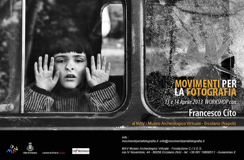 locandina web workshop fotogiornalismo con Francesco Cito